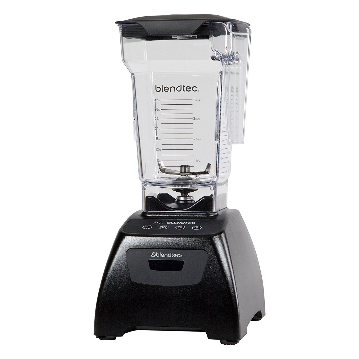 Blendtec Fit Black Blender with FourSide Jar