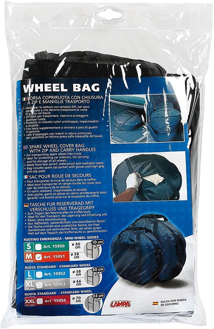 Lampa 15951/B/âches de roue de secours pour voiture