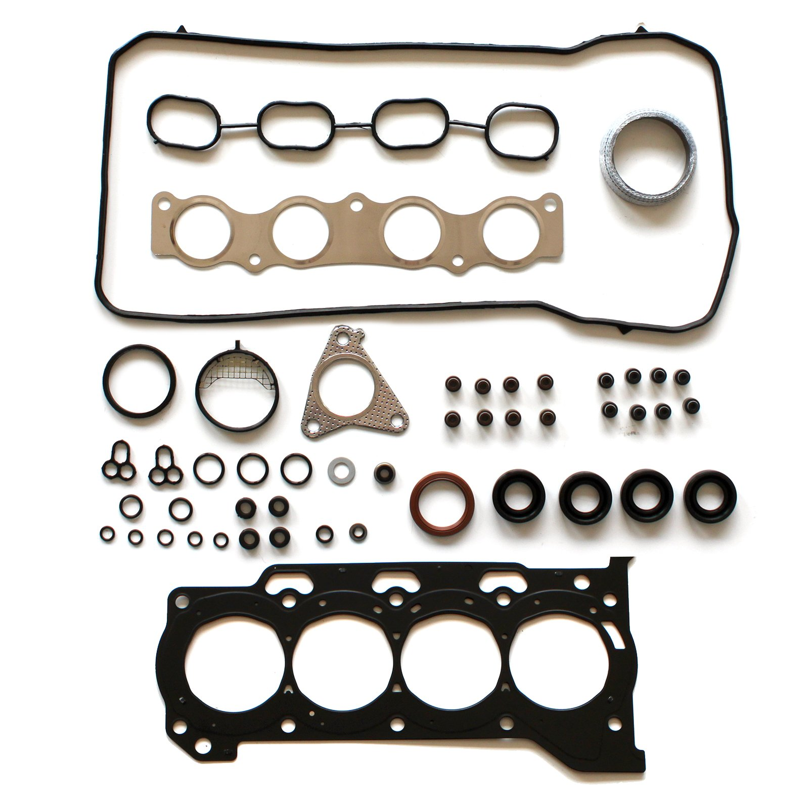 SCITOO Replacement for Head Gasket Sets fit Pontiac Vibe Scion Toyota Corolla 1.8L 2008-2015 Automotive Engine Head Gaskets Sets