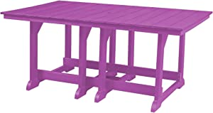 """Wildridge Outdoor Recycled Plastic Heritage Table 44"""" x 72"""" - Ships in 10-14 Business Days"""