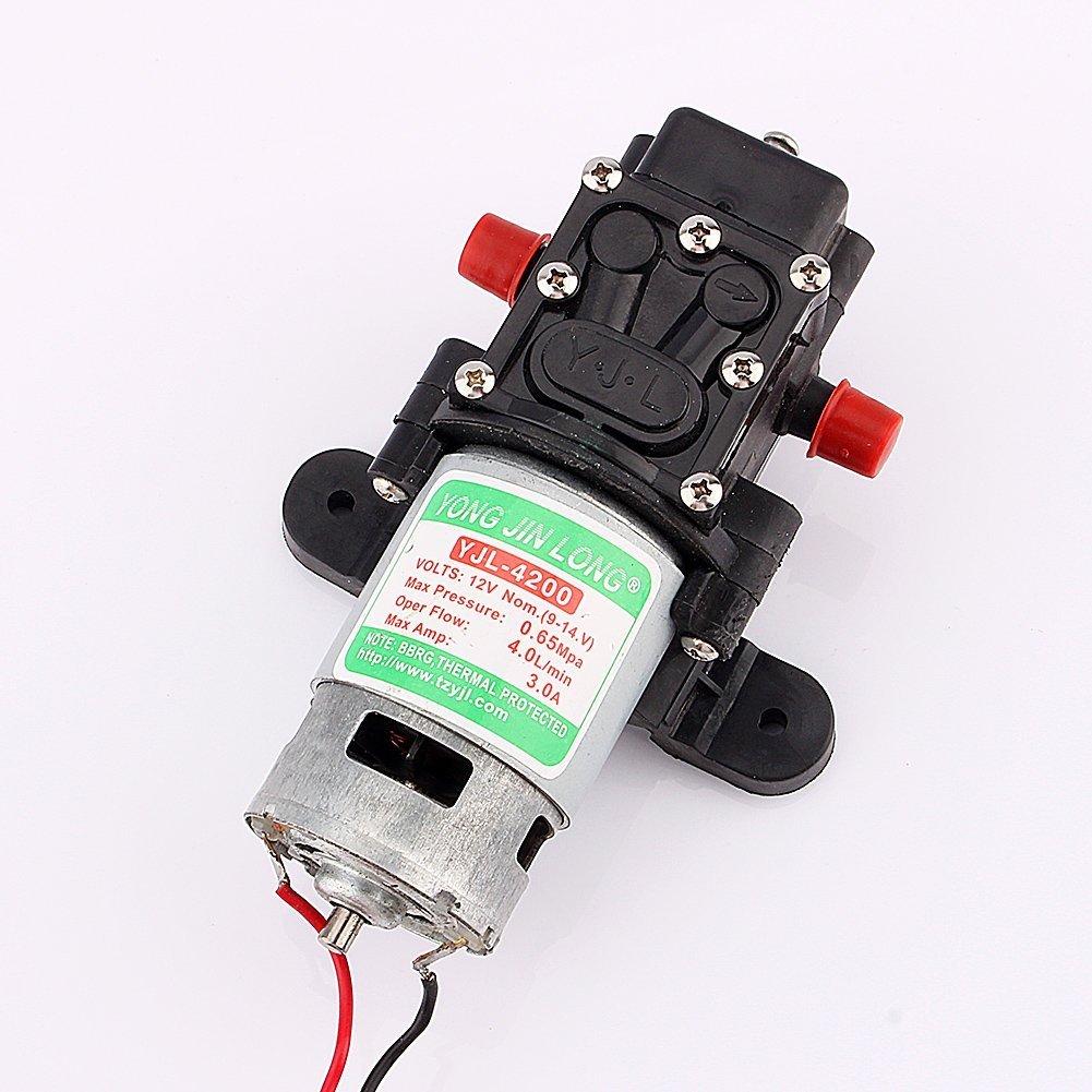 Diaphragm pump amazon zjchao dc 12v 100psi 4lmin diaphragm water self priming pump high pressure for caravan ccuart Images