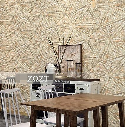 HM Papel pintado moderno minimalista de estilo nórdico líneas geométricas Patrón rollo de papel tapiz 3D