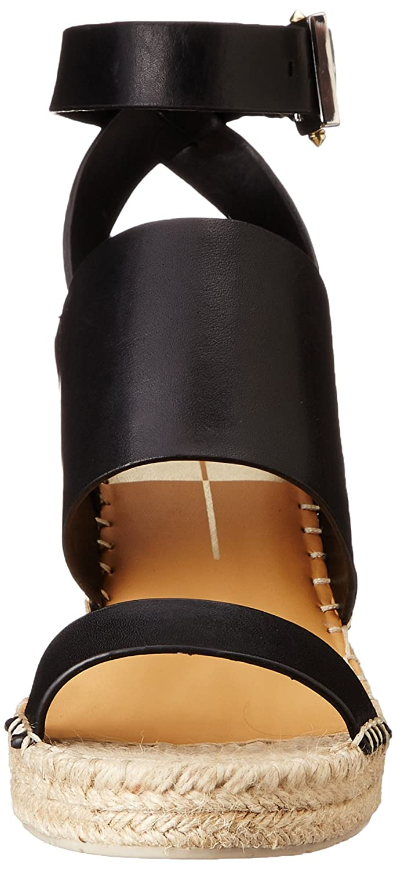 Dolce Vita Women's Nessah Espadrille Wedge B00Q6N8S9A 10 B(M) US|Black