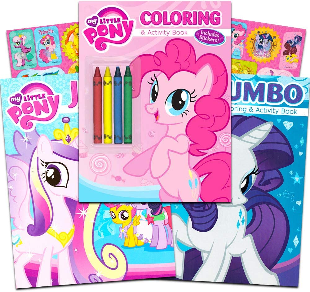 - Amazon.com: My Little Pony Coloring And Activity Book Set With