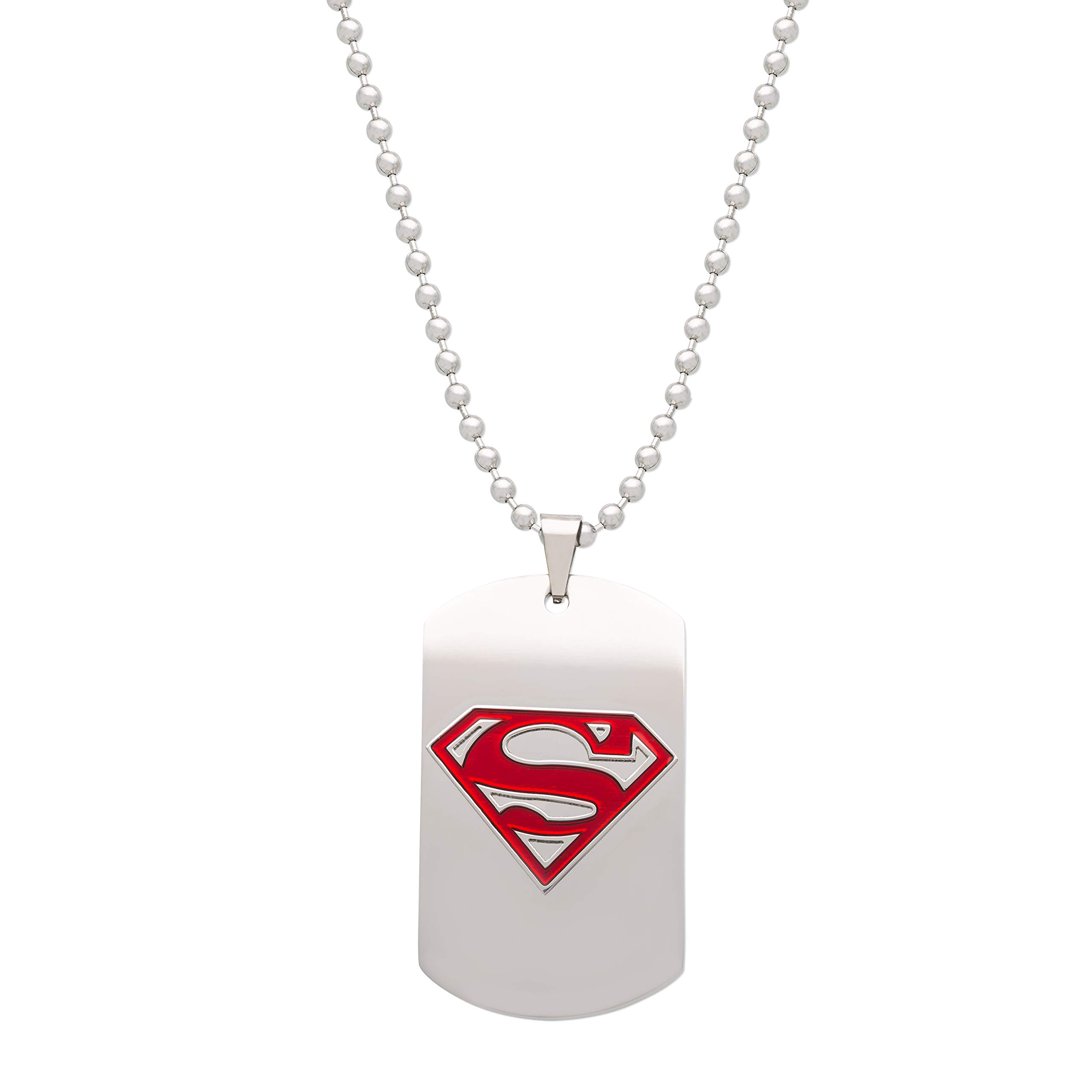 DC Comics Superman Stainless Steel Dog Tag