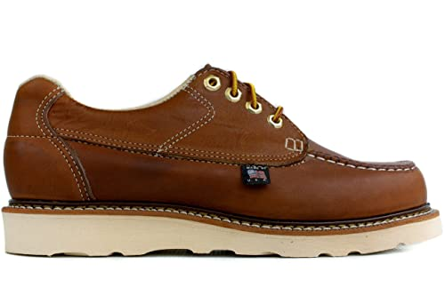 3f367d95d80 Thorogood Men's Moc Toe Oxford Non-Safety (814-4100), 8EE: Amazon.ca ...