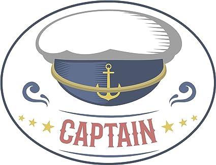 Amazon com: Cool Vintage Nautical Maritime Cartoon Art Logo Icon