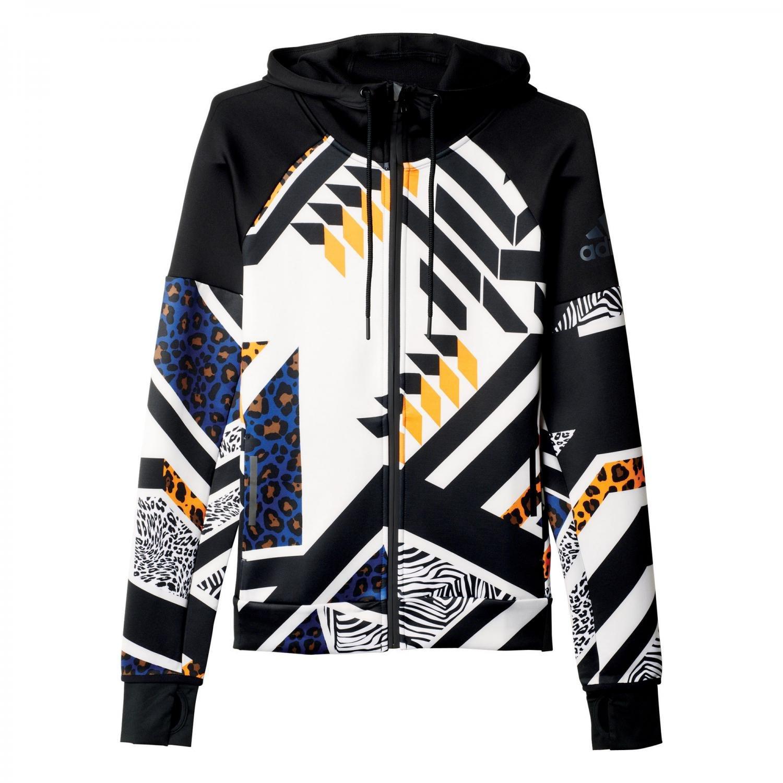 adidas Originals Womens Daybreaker Olympic Hoodie Track Top Wind Jacket adidas Performance