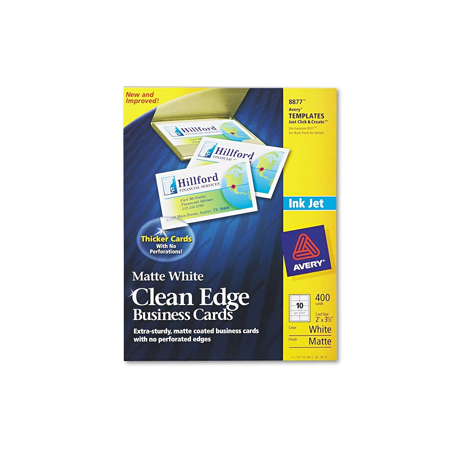 Amazon.com : AVE8870 - Avery Two-Side Printable Clean Edge Business ...