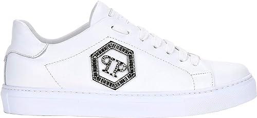 PHILIPP PLEIN 1370 Damen Sneaker W, Weiß Bianco Größe