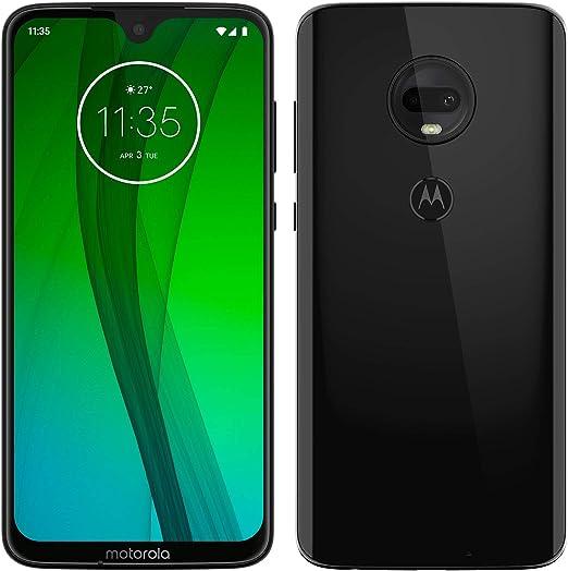 Motorola Moto G7 – Smartphone Android 9 (pantalla 6.2 FHD+ Max Vision, cámara dual 12MP, 4GB de RAM, 64 GB, Dual SIM), color negro [Exclusivo Amazon, Versión española]: Amazon.es: Electrónica