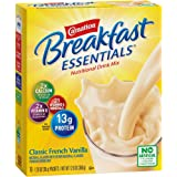 Carnation Breakfast Essentials Powder Drink Mix, Classic French Vanilla, 10 Count Box of 1.26 oz Packets, (Pack of 6…