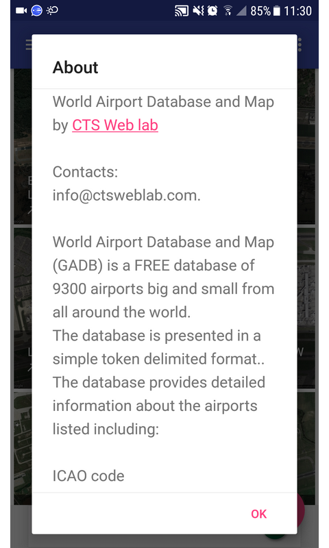 Amazon com: World Airport Database and Map: Appstore for Android