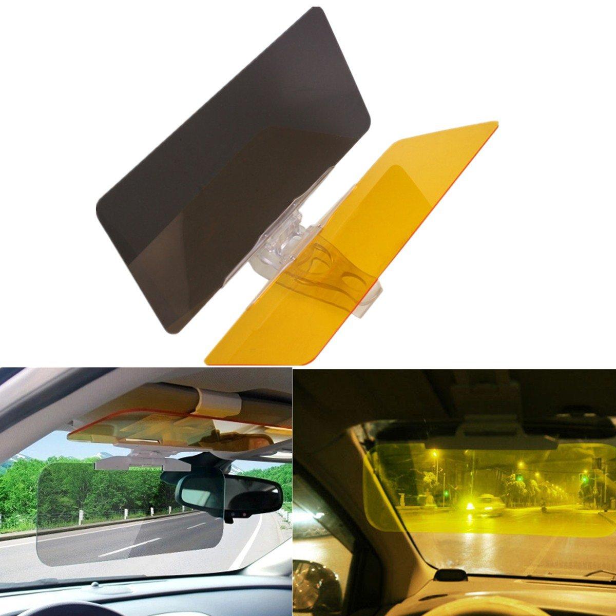 FEZZ Driving Mirror Sun Visor Anti Glare Dazzling Goggle Day Night Vision