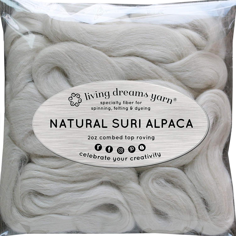 Suri alpaca Cable de para Spinning mezcla hilado teñido y Doll ...