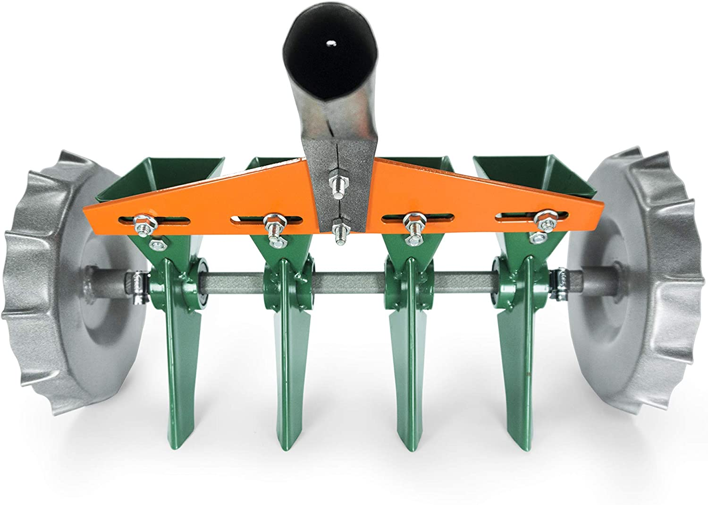 4-Row VAROMORUS Metal Precision Manual Seeder for Vegetables ...