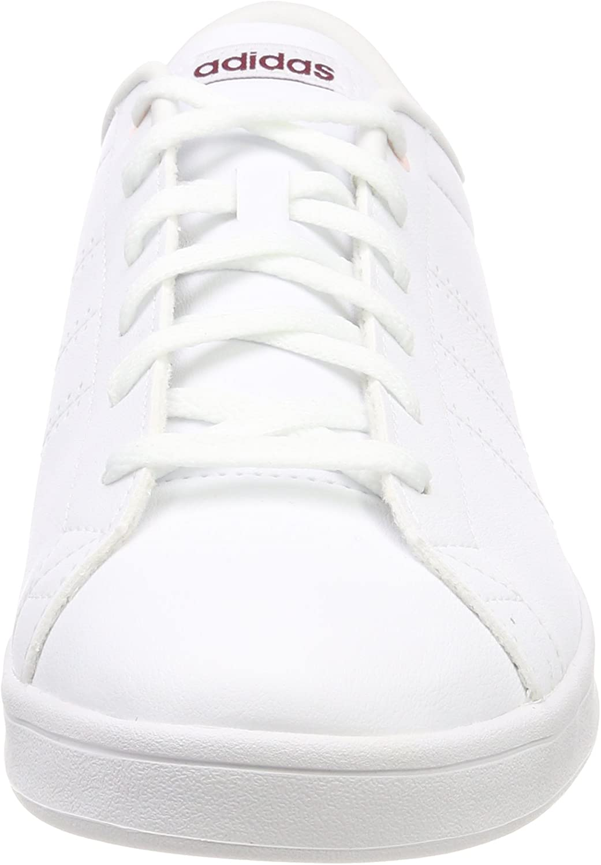 adidas Damen Advantage Clean QT Fitnessschuhe, Elfenbein