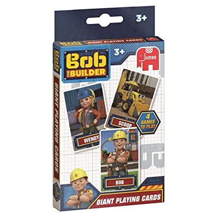 Disney Jumbo 19531 Bob el Constructor Juego de Cartas ...