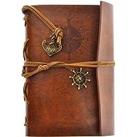 LEORX Pirata depoca ancoraggio fogli volanti stringa associato bianco Notebook Travel Journal diario
