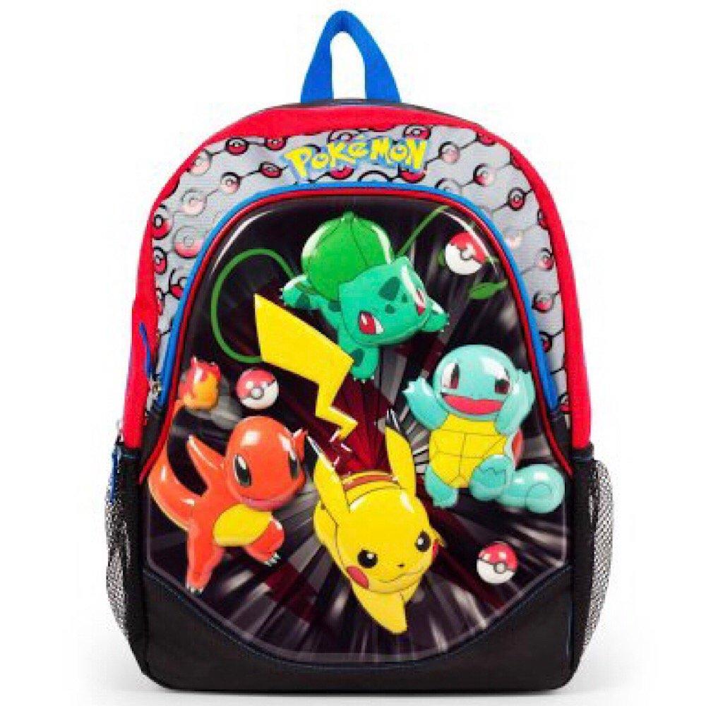 Pokemon Moldedバックパックフルサイズ16