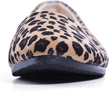 5d665ad31121 Women Leopard Print Flats Pointed Toe Cute Ballet Shoes. Slduv7 Women  Leopard Print Flats Pointed Toe Cute Ballet Shoes