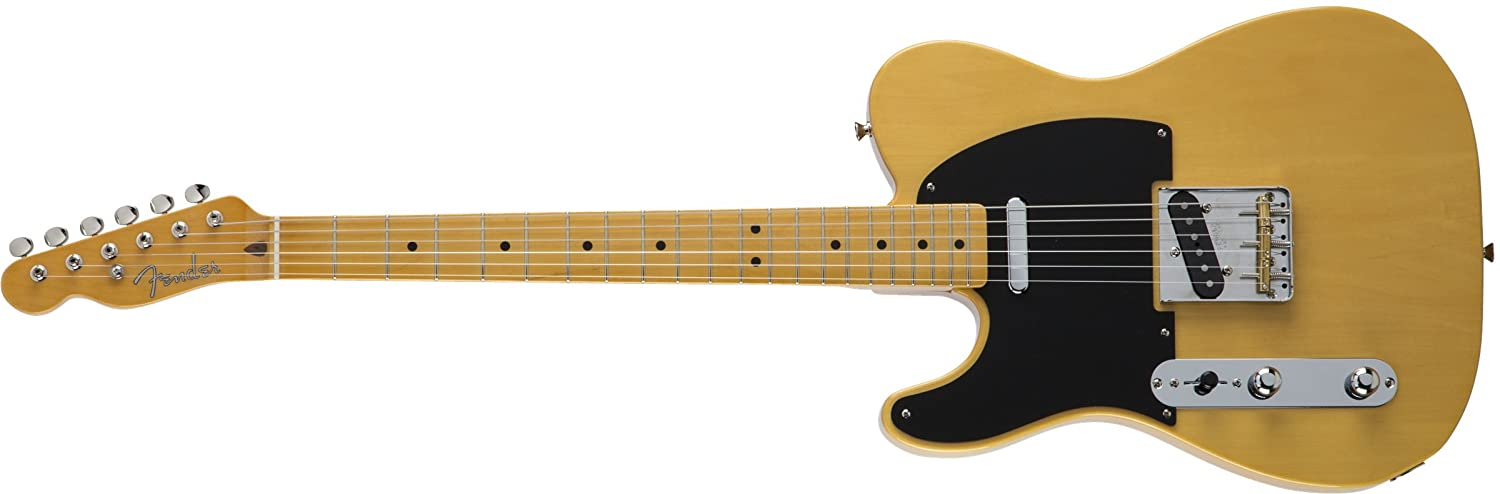 Fender エレキギター MIJ Traditional 50s Telecaster® Left-Hand Maple Vintage Natural B075DK22J3 ビンテージナチュラル(左用)