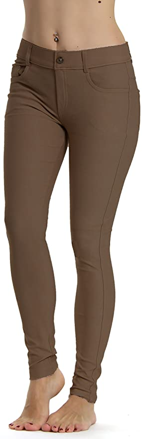 Steampunk Women's Pants, Leggings & Bloomers Prolific Health Womens Jean Look Jeggings Tights Slimming Many Colors Spandex Leggings Pants Capri S-XXXL $29.94 AT vintagedancer.com