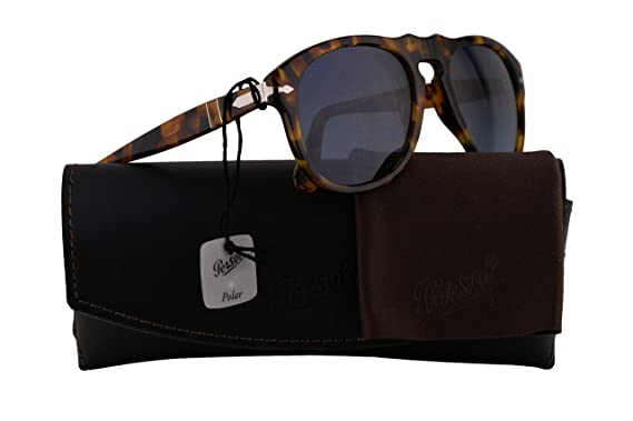8b07f2dc99 Image Unavailable. Image not available for. Color  Persol 649 1052 S3 Sunglasses  Madreterra Frame Blue Gradient Polarized