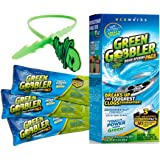 Green Gobbler Drain Opener Pacs for Drain and Toilet Clogs, 3 Pac with free hair grabber tool