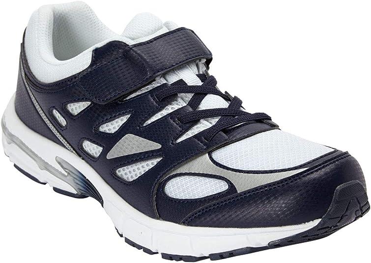 Wide Width Velcro No-tie Sneakers