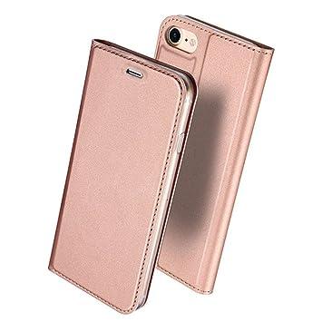 97b9c73446 iPhone8 ケース 手帳型 高級PUレザー 軽量 耐摩擦 保護ケース 携帯カバー スタンド機能