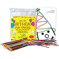 Wikki Stix Birthday Fun Favors, Pack of 20 Molding & Sculpting Sticks