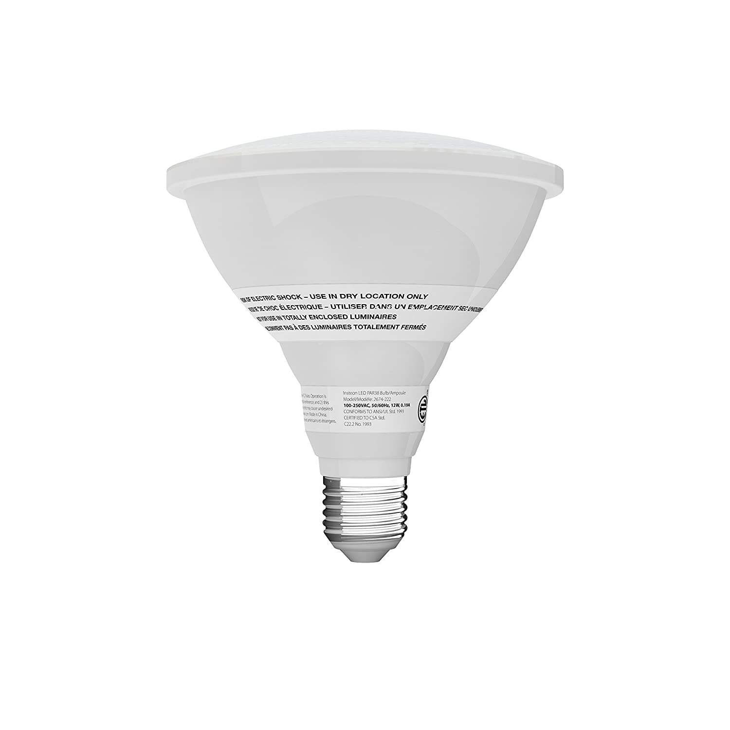 Insteon Smart Dimmable LED Light Bulb (A19) Works with Alexa via Insteon Bridge 8W (60W equivalent) Warm White Uses Superior Dual-Mesh Wireless ...  sc 1 st  Amazon.com & Insteon Smart Dimmable LED Light Bulb (A19) Works with Alexa via ... azcodes.com