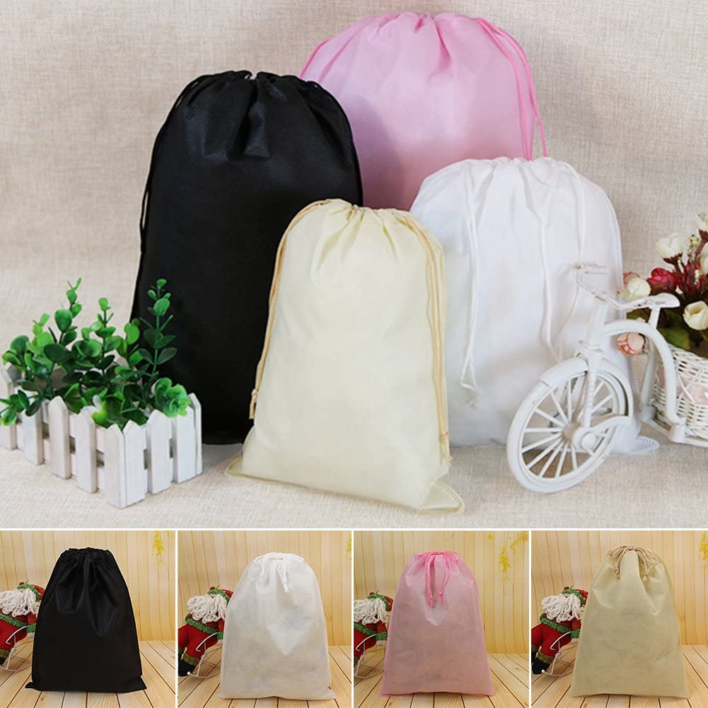 XLBlack 1Pcs Waterproof Non-woven Travel Shoes Bag House Storage