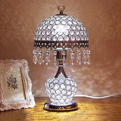GJ- Lámpara Creativa Lámpara de Mesa Decorativa Dormitorio ...