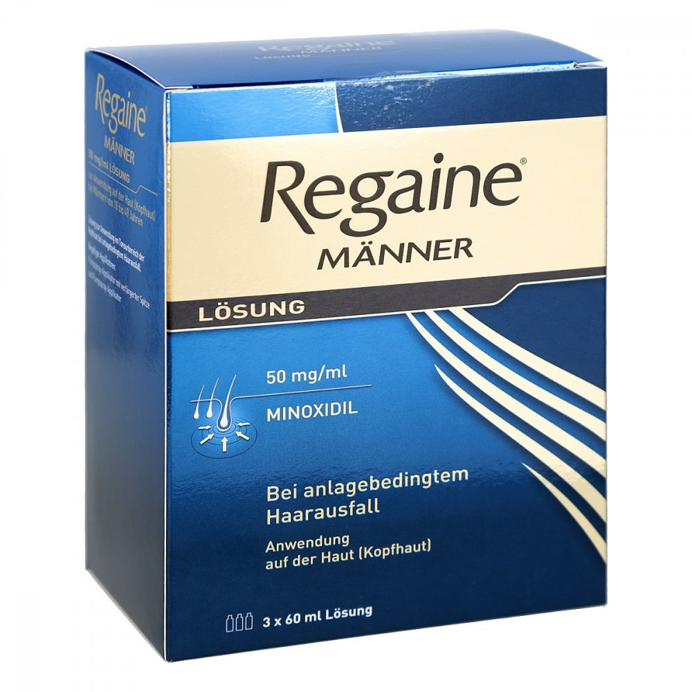 Regaine Männer Lösung, 3x60 ml Johnson & Johnson GmbH 3671166