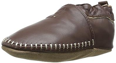 7e02b8aa000 Robeez Classic Moccasin Crib Shoe (Infant)