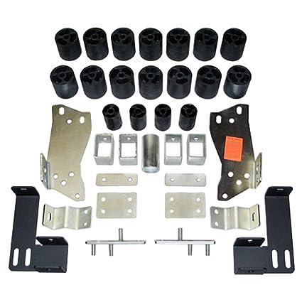 amazon com performance accessories 10053 3 body lift kit for gmc performance accessories 10053 3 quot body lift kit for gmc sierra