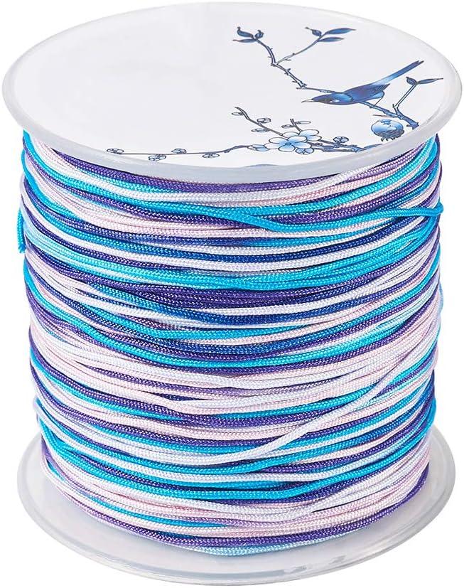 10 Handmade Colorful Friendship Bracelet Thread Woven Friendship Cord