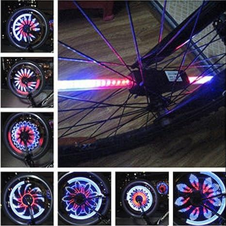 "Barra de luz LED de color para rueda de bicicleta de 22"", ..."