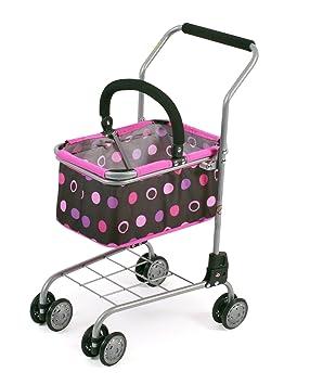Bayer Chic 2000 761 48 - Carro de la Compra con Cesta, complemento Ideal para Tienda, Pinky Balls: Amazon.es: Juguetes y juegos
