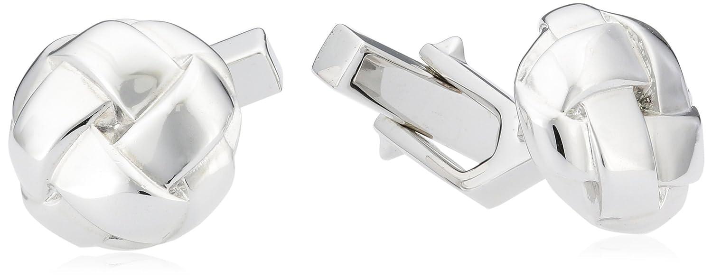 Baldessarini Herren-Manschettenknöpfe 925 Sterling Silber rhodiniert Y1058C/90/00