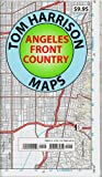 Trail Map Angeles Front Country (Tom Harrison Maps)