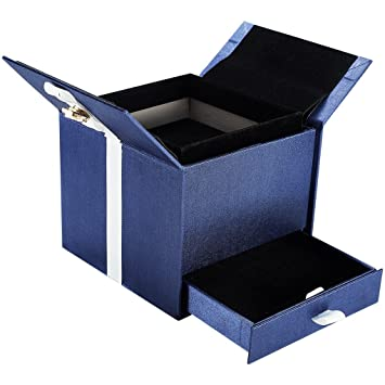 Amazon Com Blue Wrapping Boxes With Sub Box Sample Box Custom