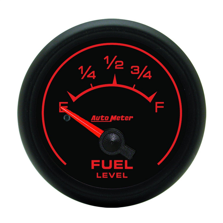 Auto Meter 5913 ES 2-1/16' 0-90 ohms Short Sweep Electric Fuel Level Gauge for GM