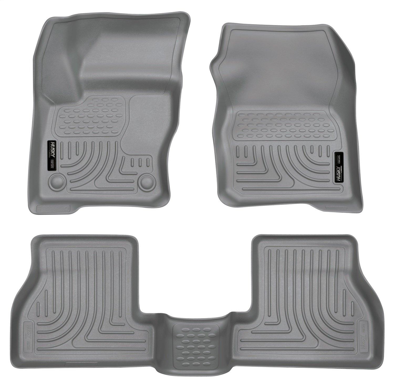 Husky Liners Front /& 2nd Seat Floor Liners Fits 12-16 Focus 98772