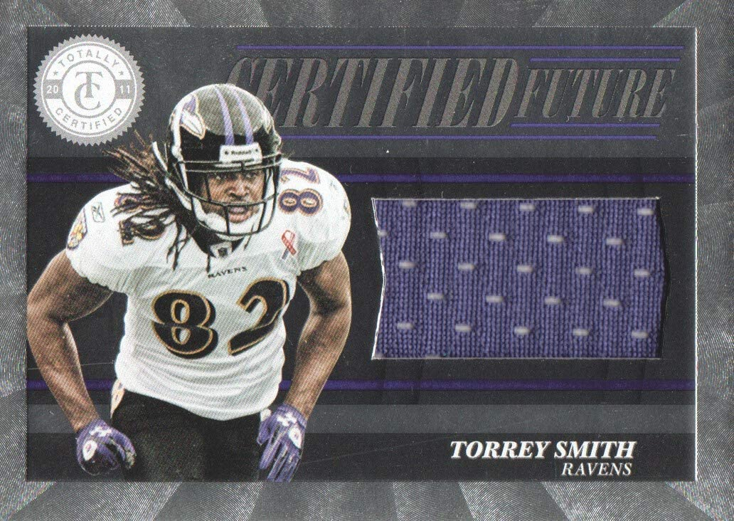 2011 Totally Certified Future JERSEY #35 Torrey Smith /499 ...