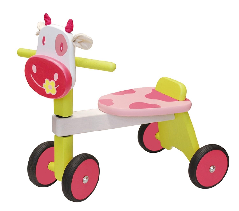 I M TOY Correpasillos Andador de madera La vaca rosada - IM85010 ...