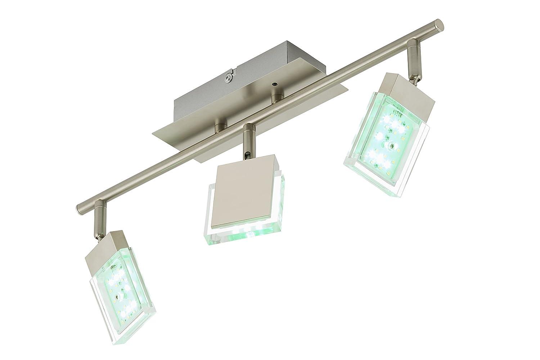 deckenlampe led mit fernbedienung led deckenleuchte cardito deckenlampe kristall quadratisch. Black Bedroom Furniture Sets. Home Design Ideas