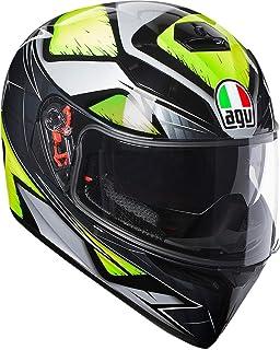 Amazon.com: AGV K3 SV Bulega Motorcycle Helmet Size Medium ...